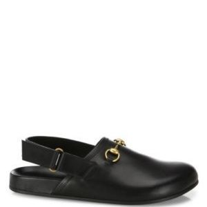 Gucci Horsebit Loafer River Clog Mule US 8